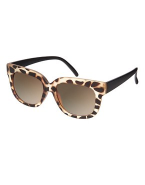 ASOS Square Cat Eye Sunglasses