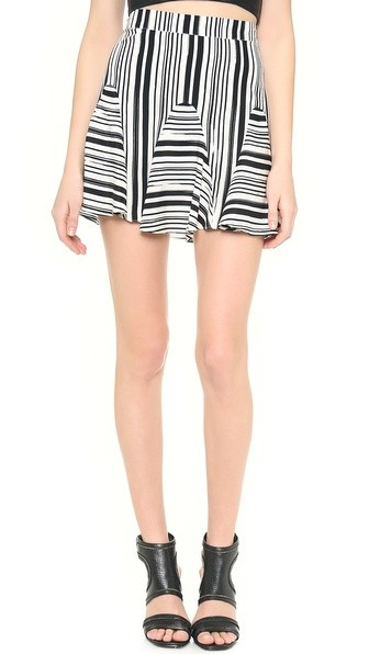 Tulum Striped Skirt