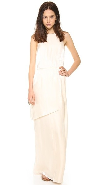 Flume Asymmetrical Wrap Dress