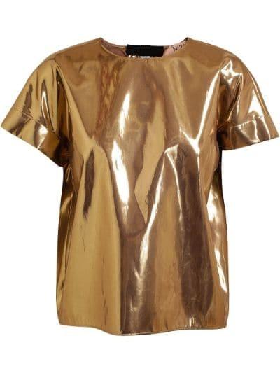 Metallic Gold Top