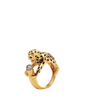 Bill Skinner Leopard Ring