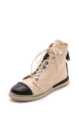 Zipit Captoe High Top Sneakers