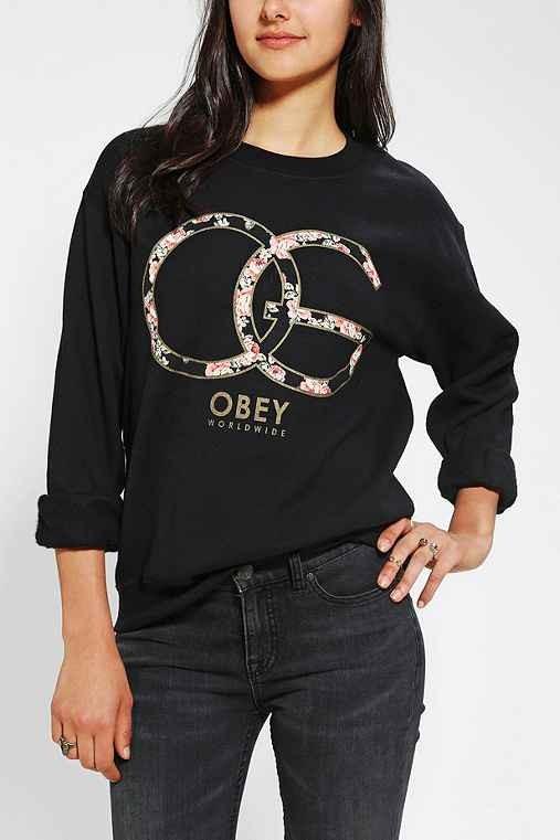 OBEY Emporium Pullover Sweatshirt