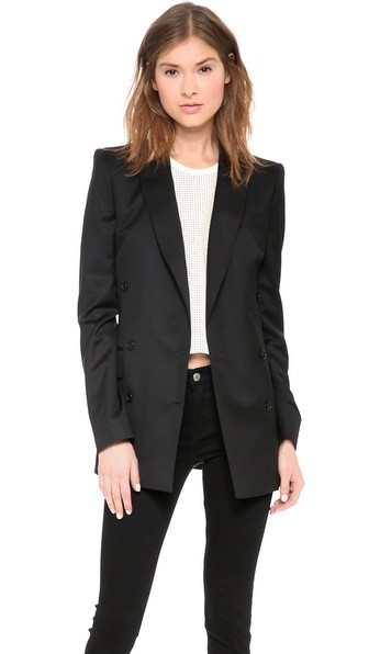 Iconic Double Breasted Blazer