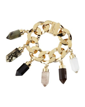 Point Crystal Charm Bracelet - Givenchy