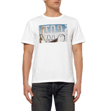 Ben Tierney Printed Cotton-Jersey T-Shirt