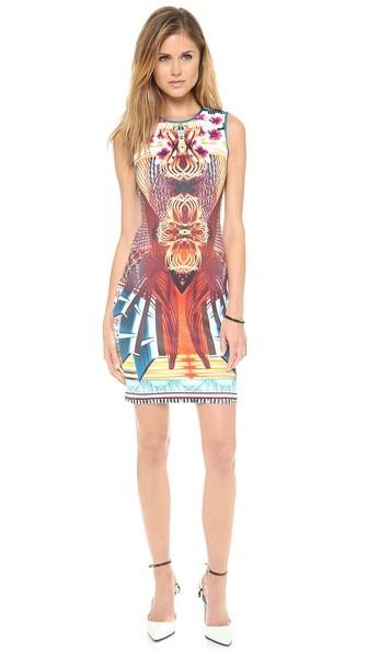 Furniture Weave Sleeveless Dress
