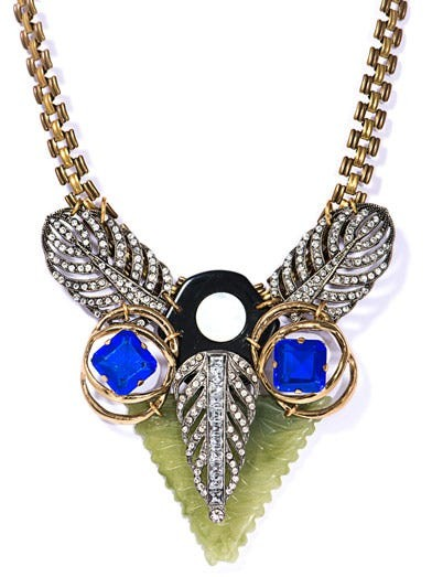 Exclusive crystal necklace