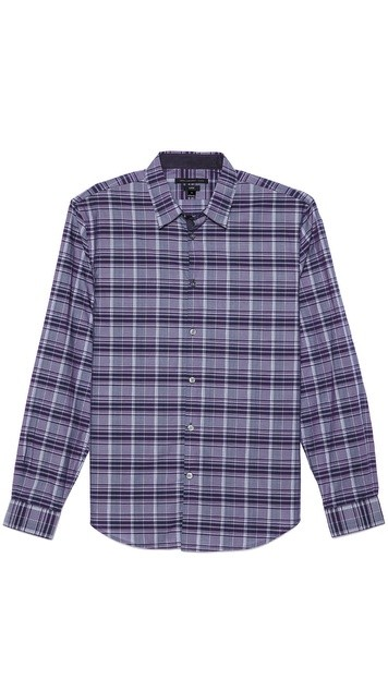 Turnback Placket Sport Shirt