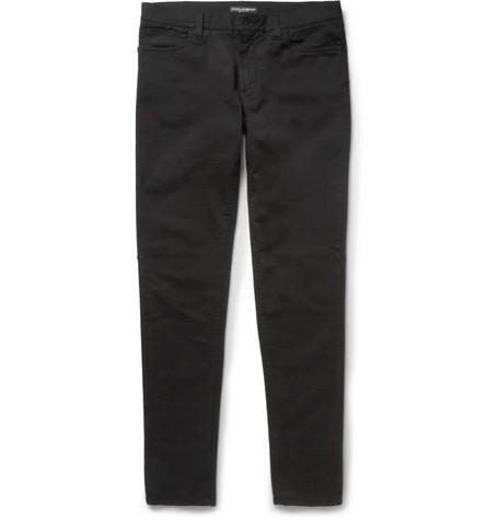 Green-Fit Slim-Fit Denim Jeans