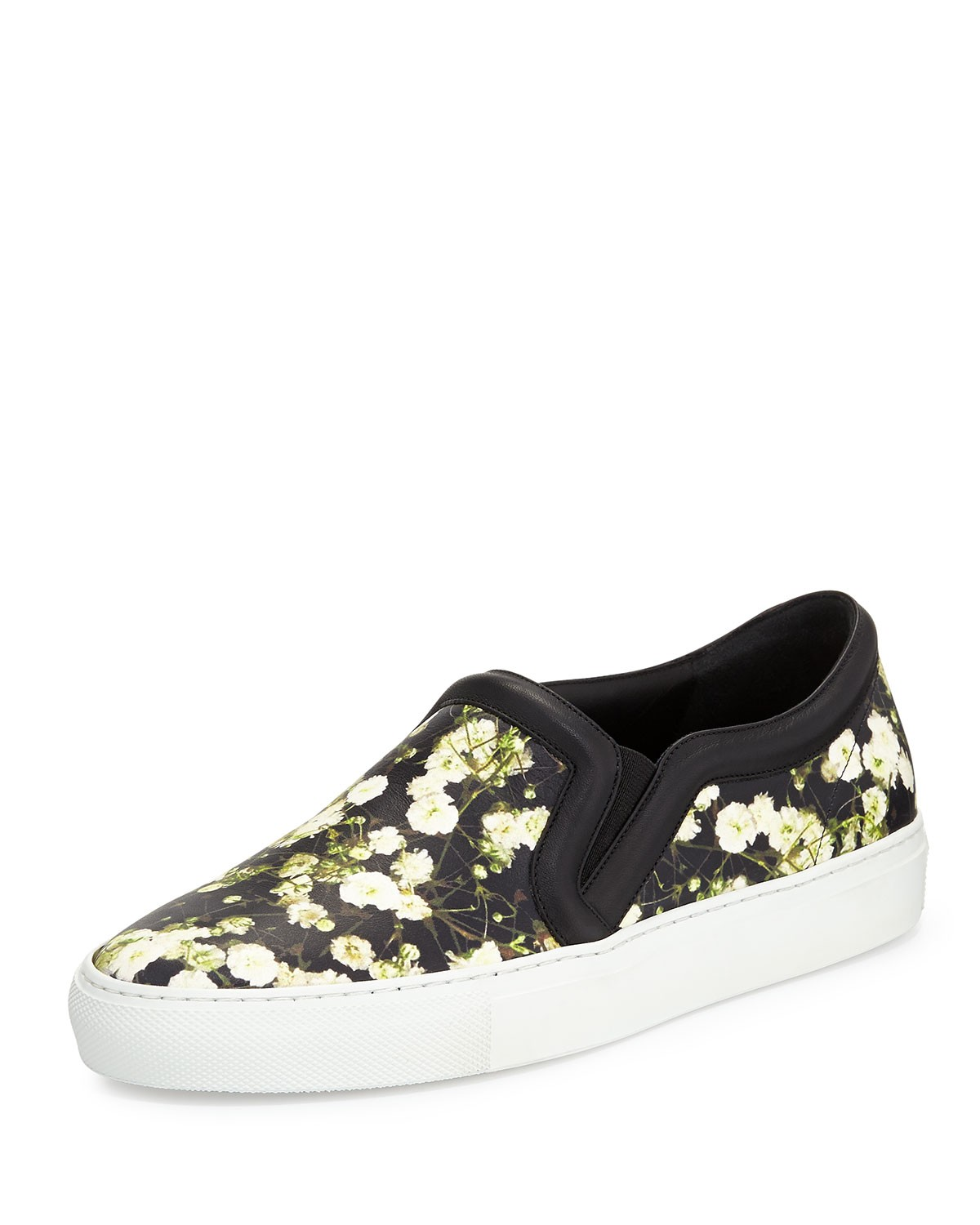 Floral-Print Skate Sneaker, Baby's Breath - Givenchy
