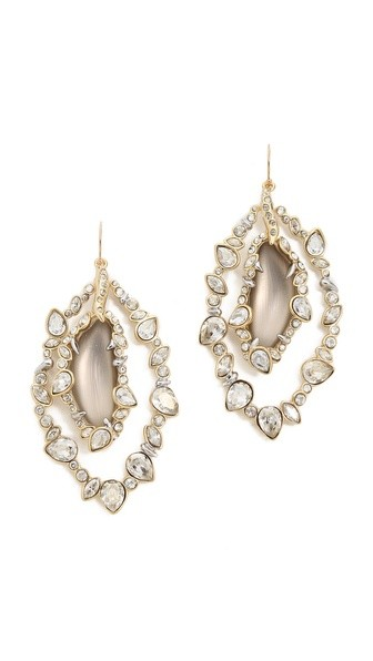 Crystal Framed Earrings