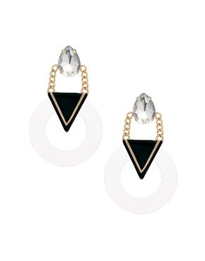 ASOS Modern Chandelier Earrings
