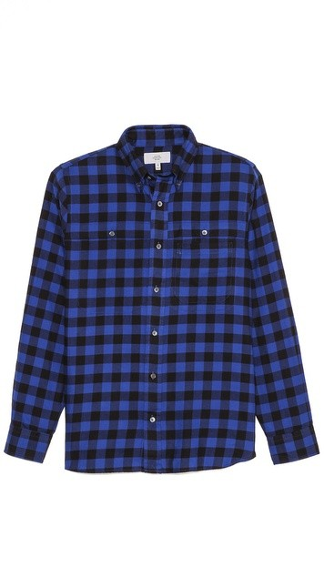 Samson Buffalo Check BD Sport Shirt