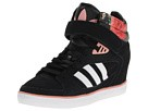adidas Originals - Amberlight Up Sneakerwedge (Black/Rose Gold Metallic/Fade Rose) - Footwear