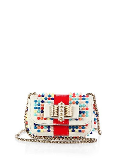 Sweet Charity Multicolored Spikes Shoulder Bag