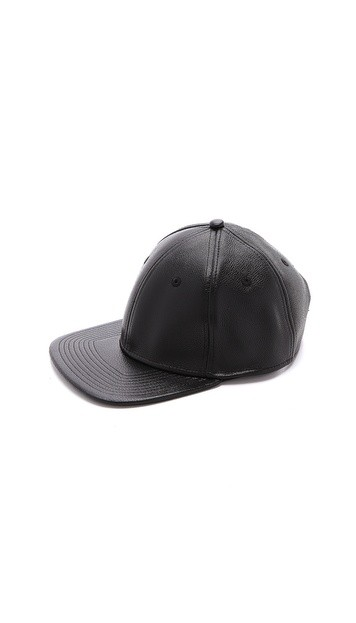 MJ Letterman Leather Hat