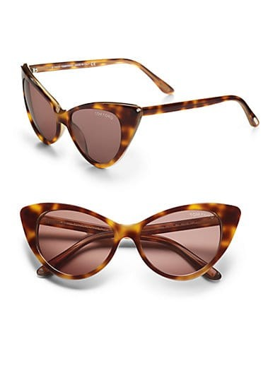 Nikita Cat's-Eye Sunglasses/Havana