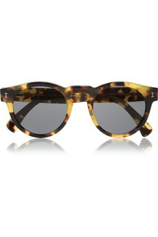 Leonard round-frame tortoiseshell sunglasses