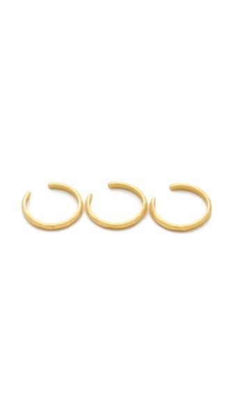Taner Cuff Ring Set