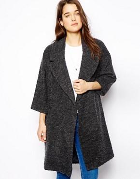 ASOS Slouch Textured Coat