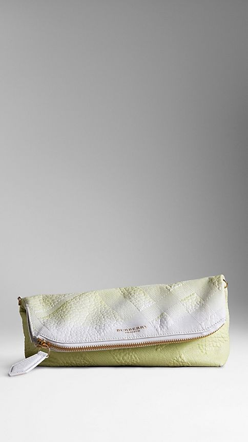 The Petal in Embossed Dégradé Leather