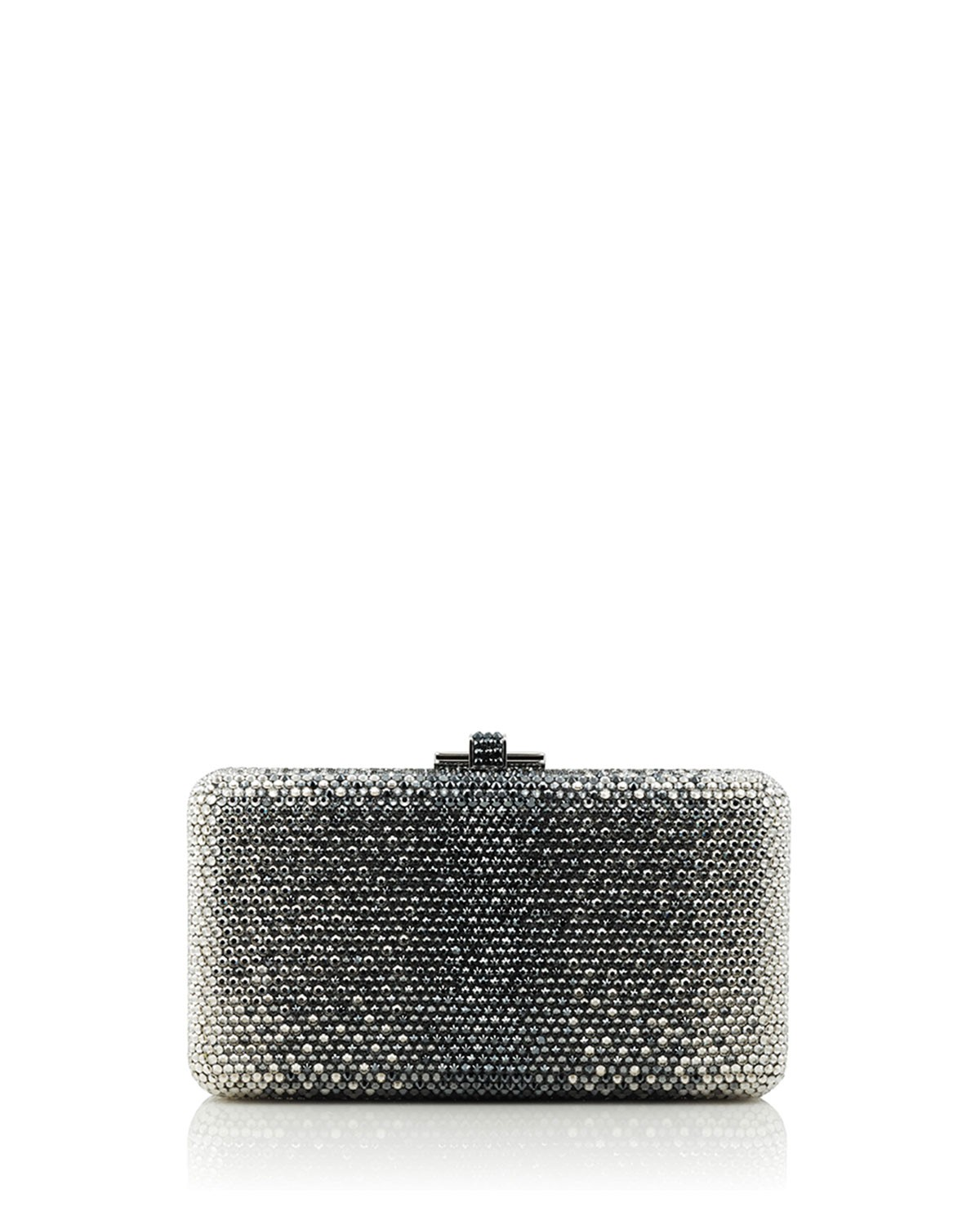 Airstream Large Ombre Clutch Bag, Silver Multi - Judith Leiber Couture