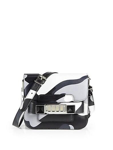 PS11 Camouflage Leather Tiny Shoulder Bag