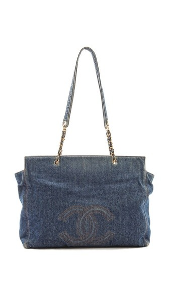 Chanel Denim Super Tote