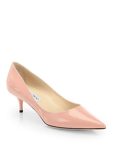 Aza Patent Leather Pumps