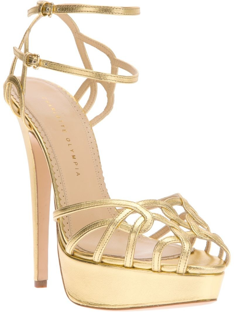 CHARLOTTE OLYMPIA 'Ursula' strappy sandal