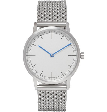 152 Series Brushed-Steel Wristwatch