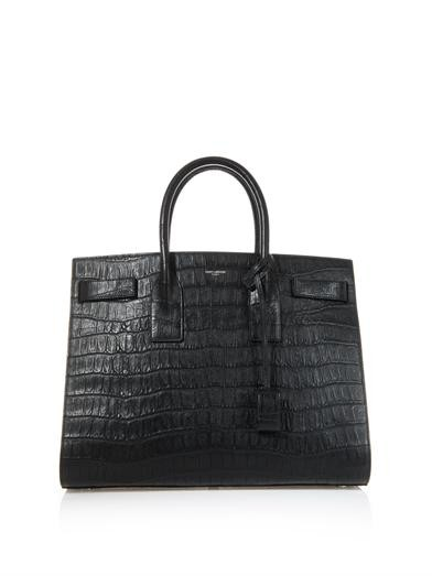 Sac De Jour large leather tote