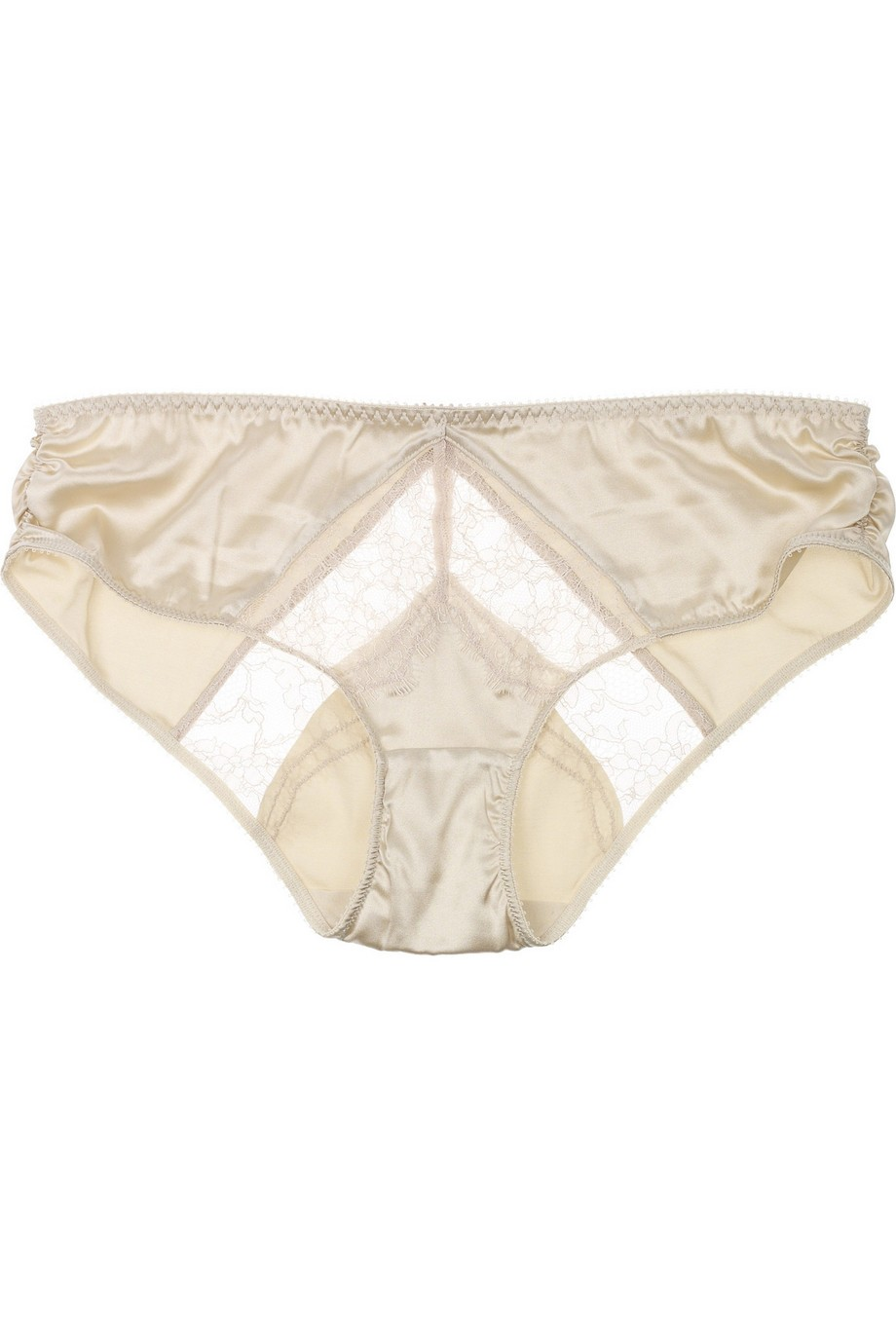 Josephine Marrying mid-rise satin briefs