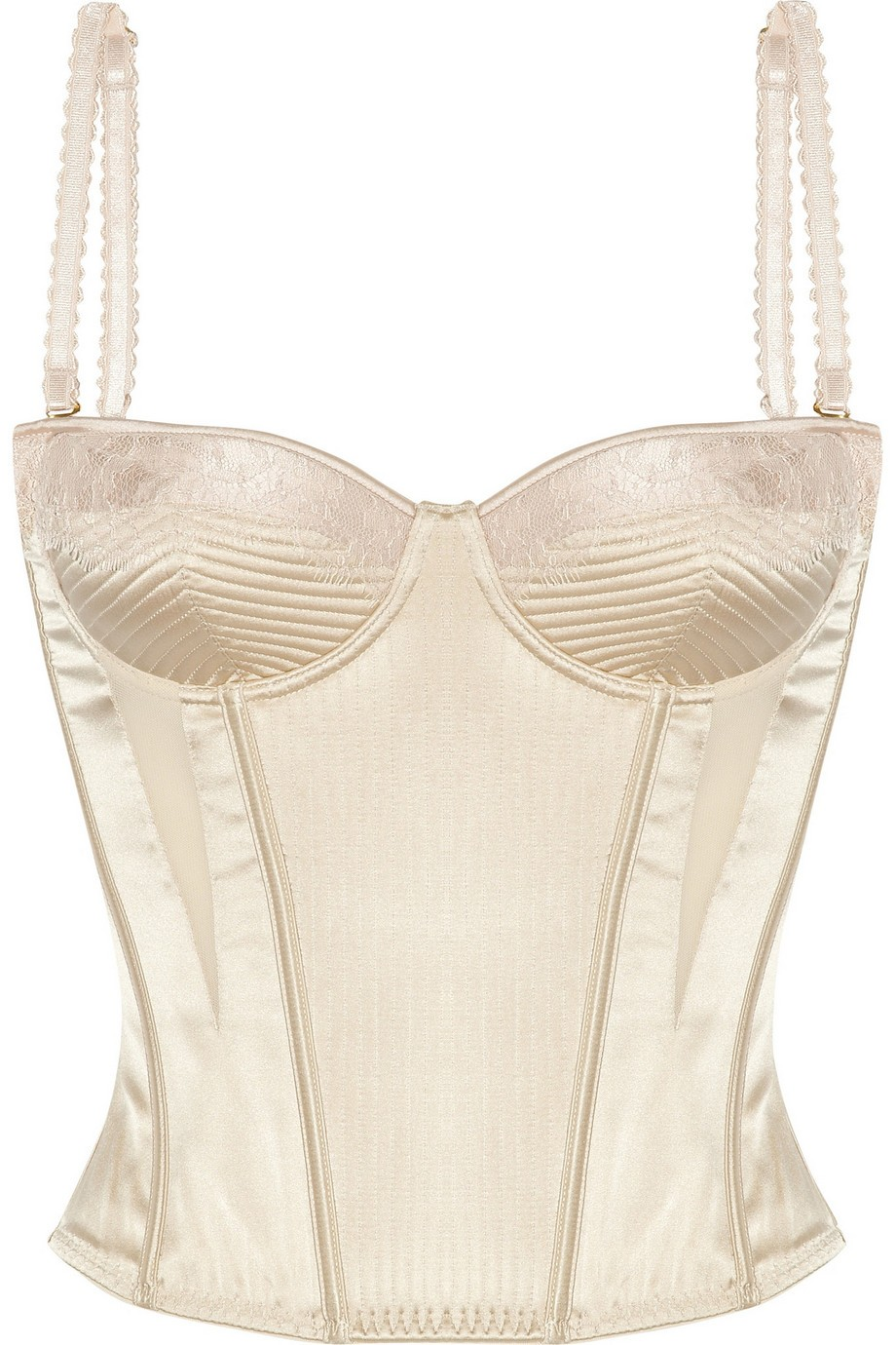 Josephine Marrying satin corset