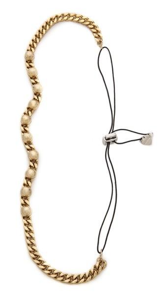 Sandra Stud & Chain Headwrap