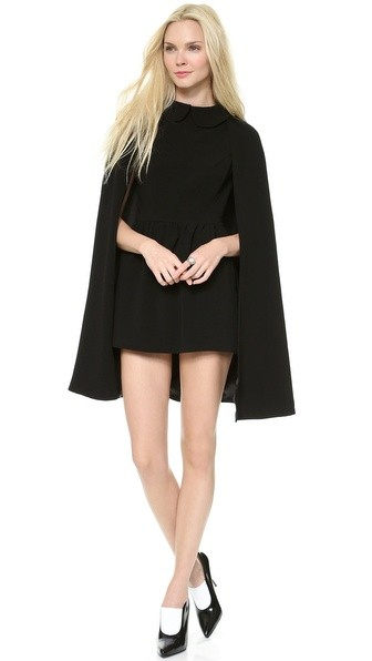 Monica Rose Rhodes Cape Dress