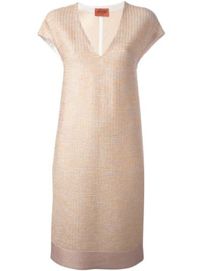 fine knit shift dress