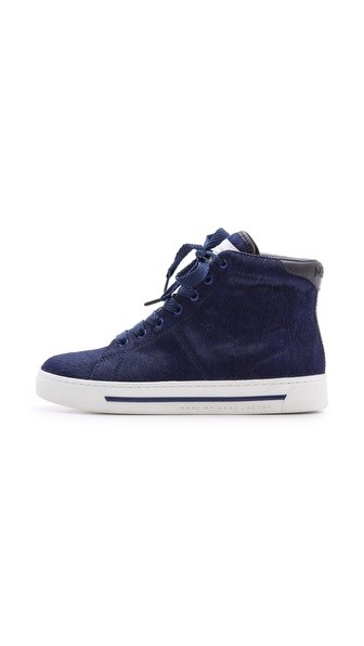 Haircalf High Top Sneakers