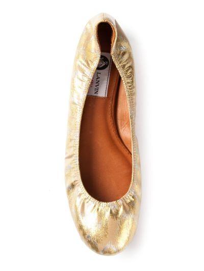 round toe ballerina