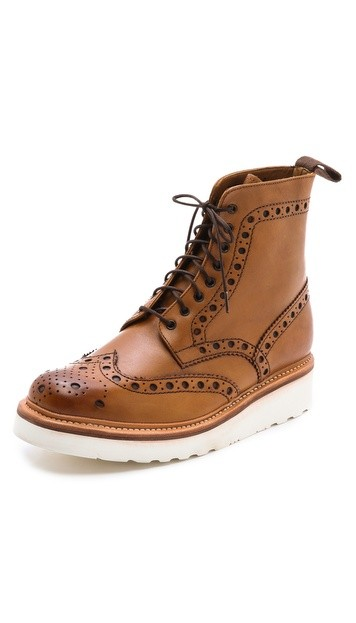 Fred Wingtip Boots