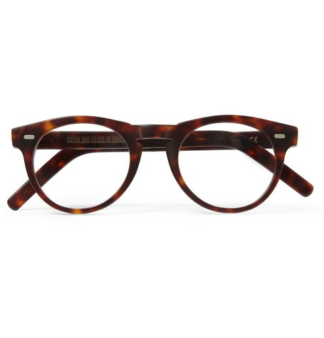 Round-Frame Matte-Acetate Optical Glasses