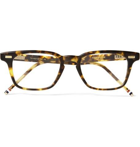 D-Frame Matte-Acetate Glasses