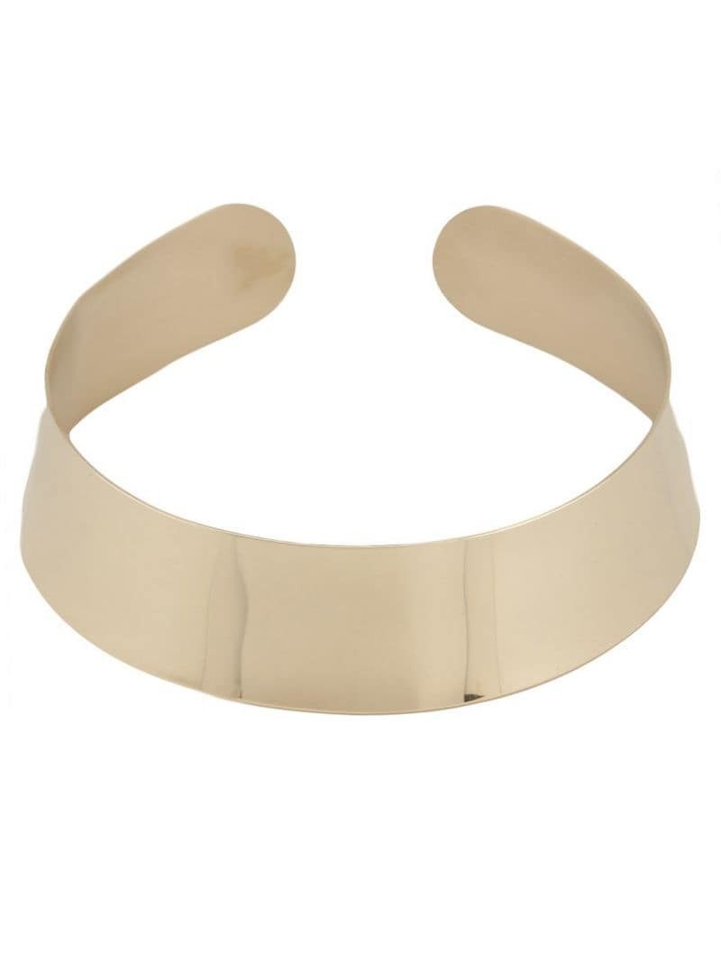 MAISON MARTIN MARGIELA high polish choker