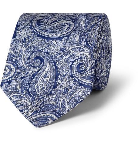 Paisley Woven-Silk Tie