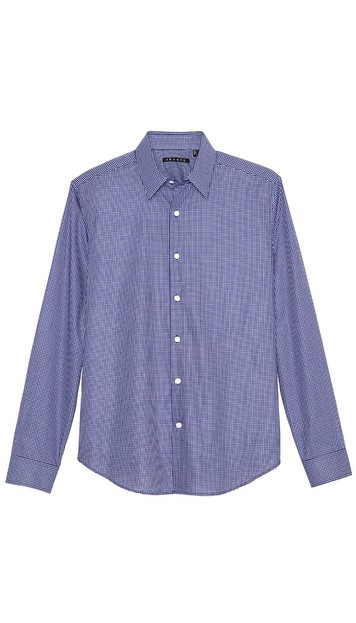 Sylvain Mini Check Dress Shirt