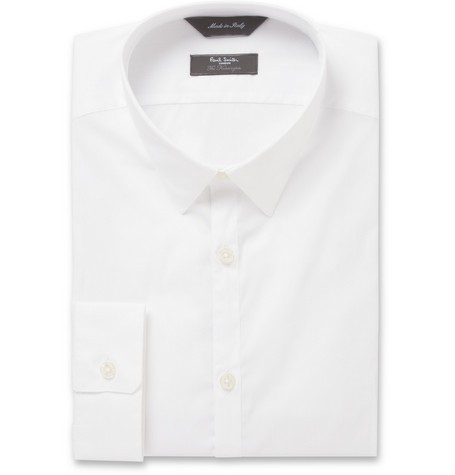 Kensington Slim-Fit Dobby Cotton-Blend Shirt