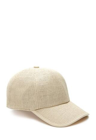 Prairie Doll Straw Baseball Hat