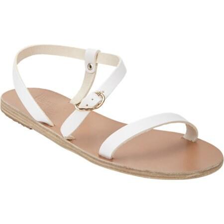 Niove Asymmetric-Strap Flat Sandals