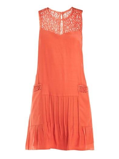 Abigayle netty silk dress